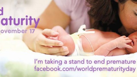 17 Novembre – World Prematurity Day.